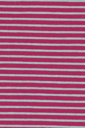 Hil-Tex Streifen - Pink/Hellblau