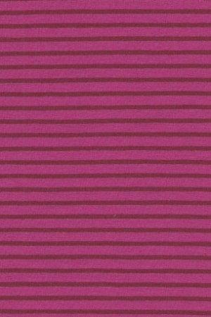 Hil-Tex Streifen - Pink/Dunkelrot