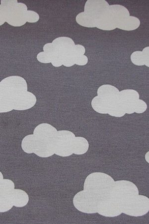 Wolken grau