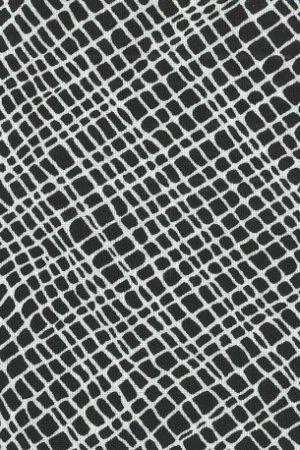 Thicket Crosshatch Black White