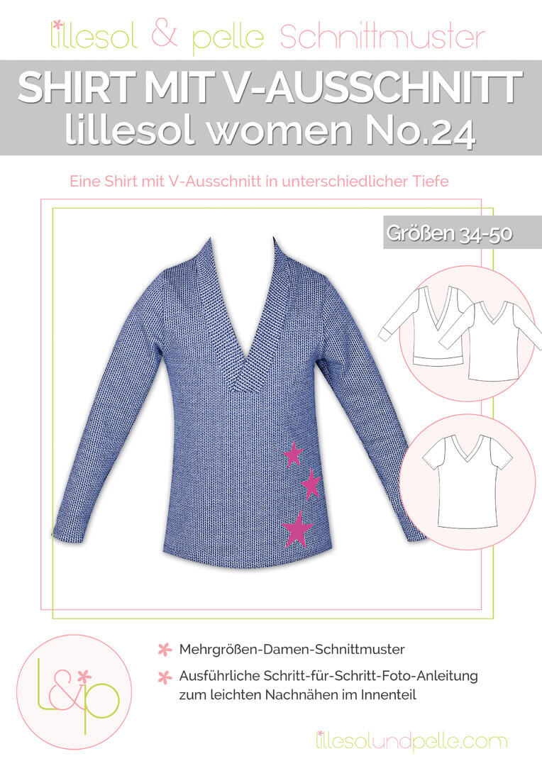 lillesol & pelle women No.24 Shirt mit V-Ausschnitt ...