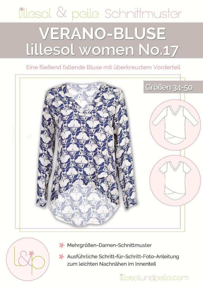 lillesol & pelle women No.17 Verano-Bluse Papierschnittmuster ...