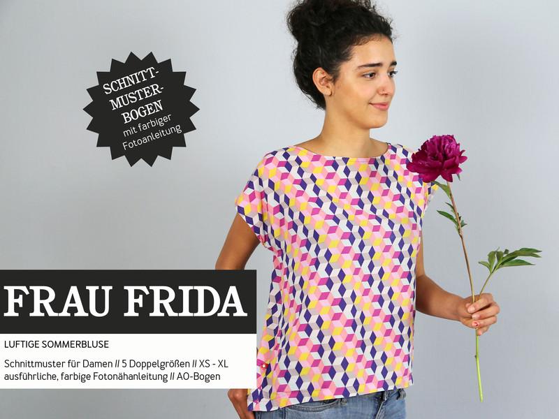 Fritzi Schnittreif Papierschnitt Frau Frida | Stofflounge