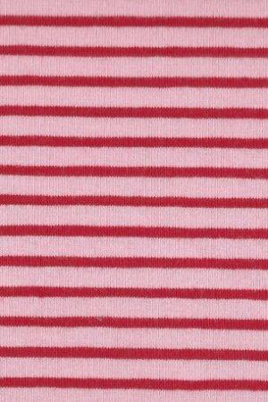 Hil-Tex Streifen Hellrosa-rot