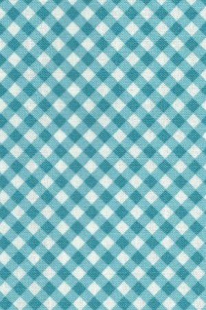 Baumwollstoff blau-kariert