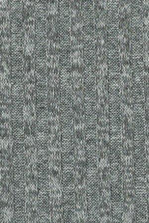 Strick melange grau