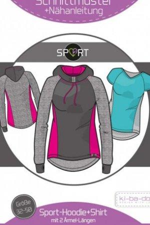 Sport-Hoodie Damen 32-50