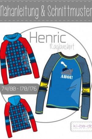 Raglanshirt HENRIC 74/80 - 170/176