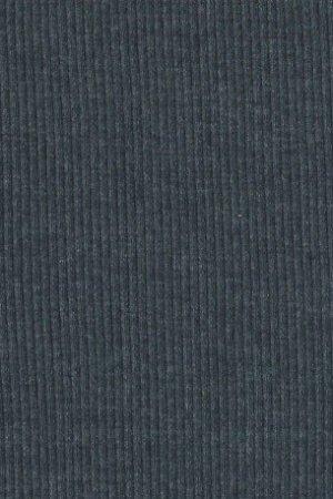 Strickschlauch melange blau
