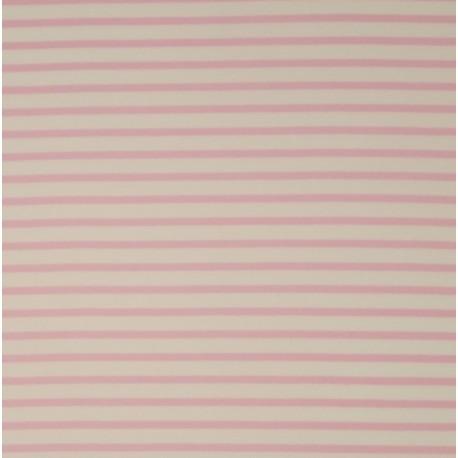 Strick Streifen rosa