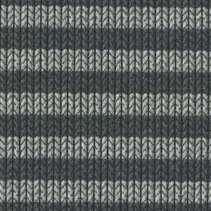 Knit Knit Maxistripes - anthramel/schwarz