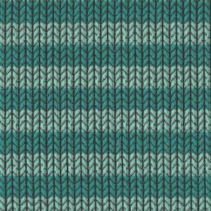 Knit Knit Maxistripes - verdino/caraibi