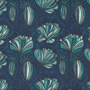 Lillestoff Modal Poppyfield blue