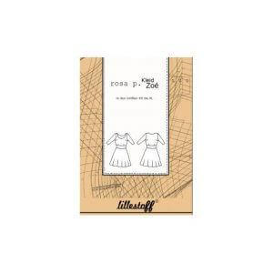 Lillestoff Schnittmuster Kleid ZOE XS bis XL