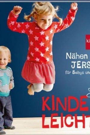"""Buch """"Nähen mit JERSEY - kinderleicht!"""" (Vorbestellung, Lieferbar ca Mitte Feb)"""