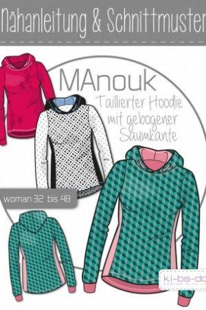 Taillierter Hoddie Manouk woman 32 bis 48